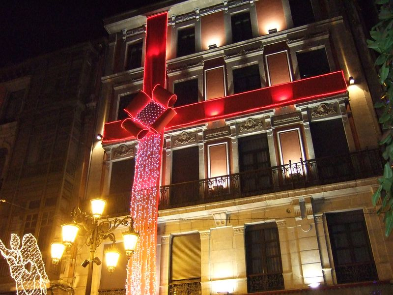 Oviedo - Christmas lights