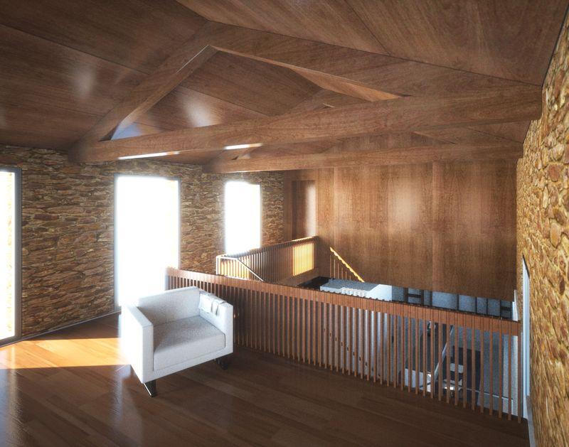 Artist impression - Granero first floor
