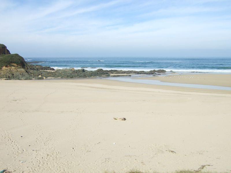Serantes beach