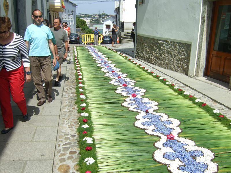 Corpus Christi Alfombras De Flores En Castropol Asturias Casa
