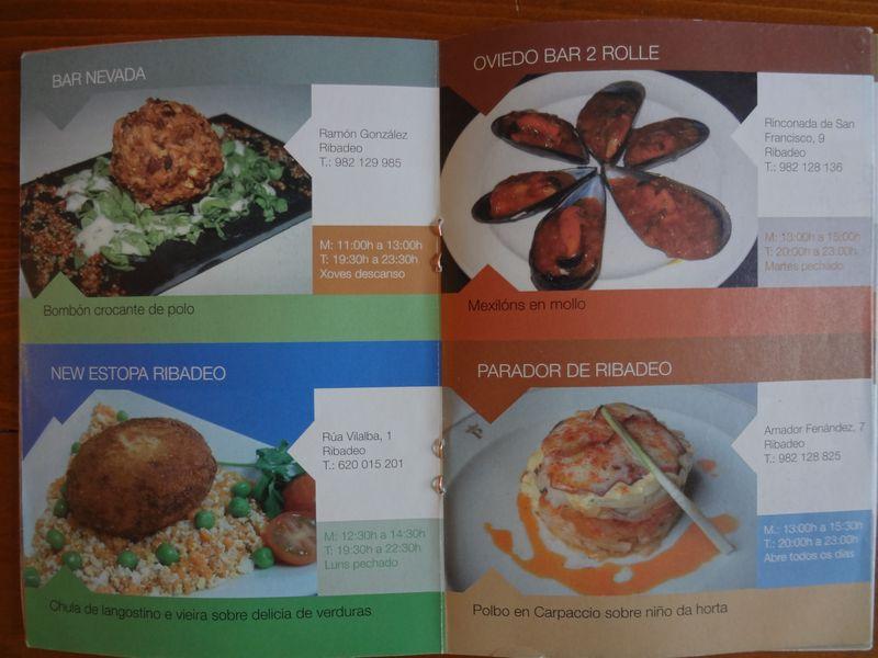 Tapas booklet