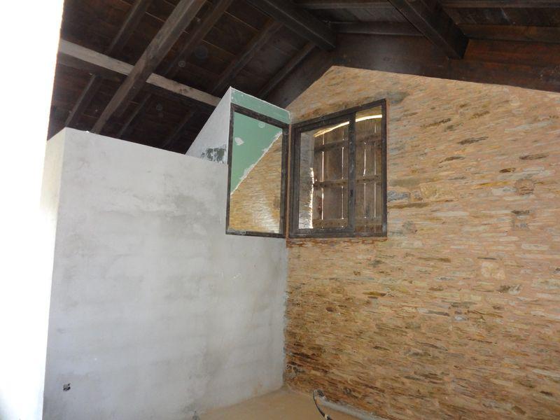 Upstairs bedroom and bathroom