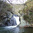 Small waterfall at Cioyo