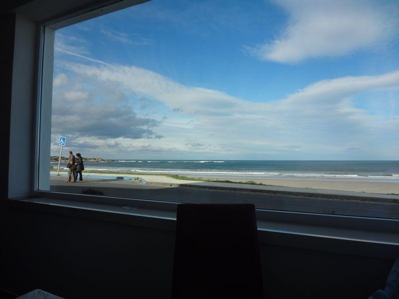 View from Yenka restaurant