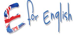 E for English