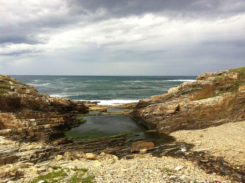 Coastline near Rinlo