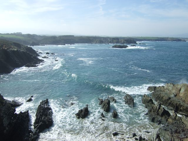 Beaches in Asturias and Galicia 004