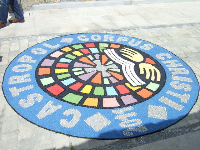 Corpus Christi flower carpets 009