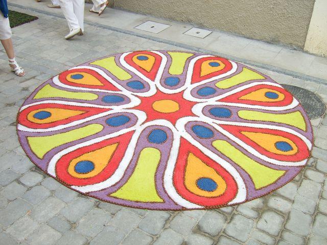 Corpus Christi flower carpets 1
