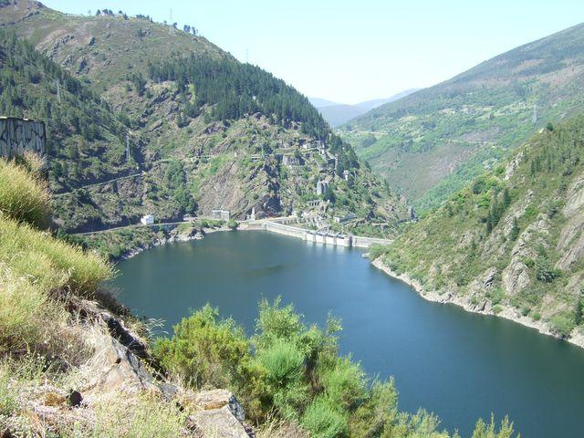 Dam at Grandas de Salime