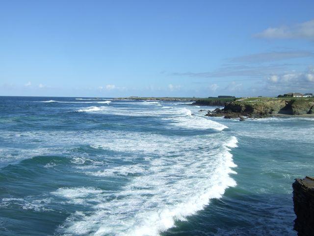 View towards Ribadeo